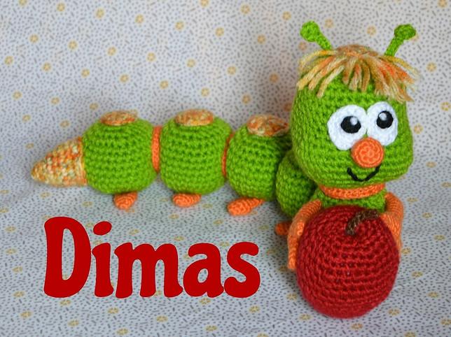 Dimas, el gusanito glotón