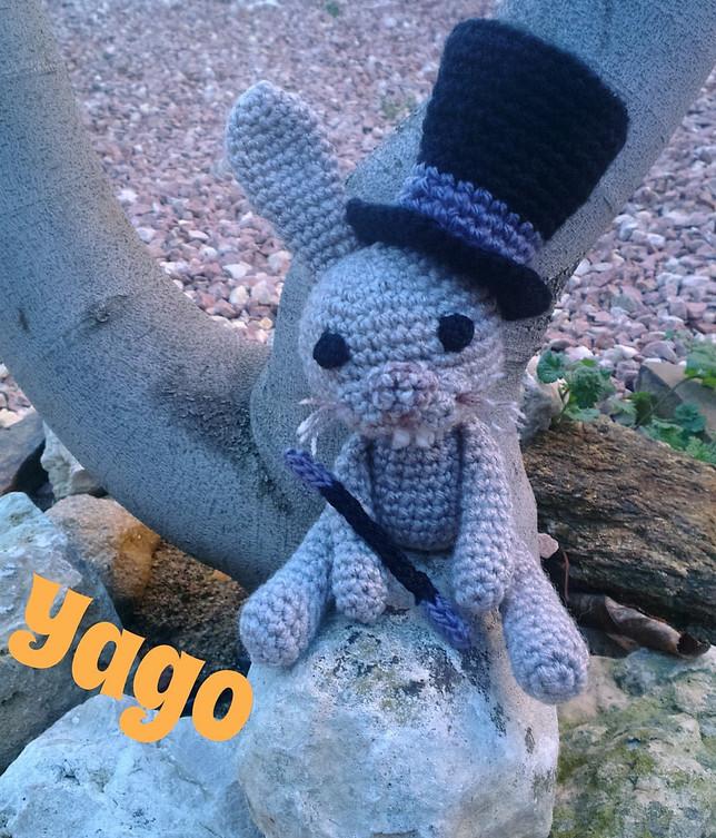 Yago, el conejo de El Gran Mago