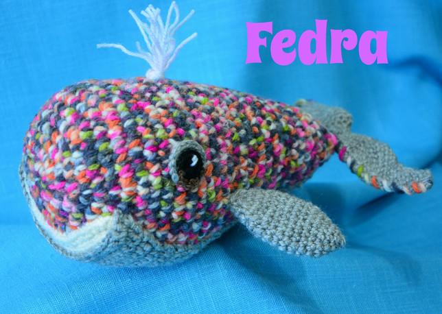 Fedra, la ballena multicolor