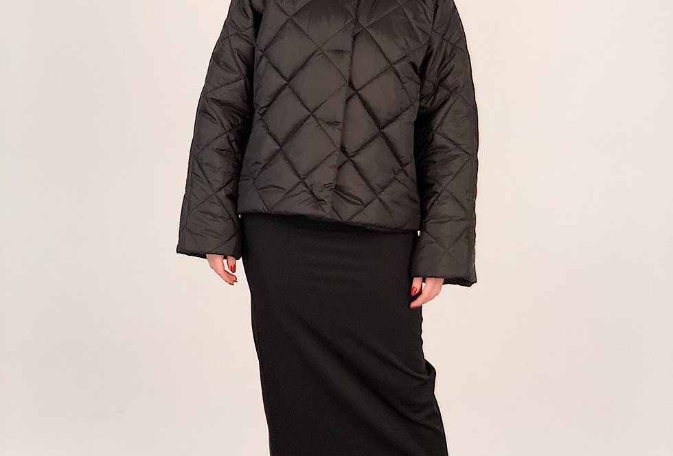 Укороченная куртка oversize