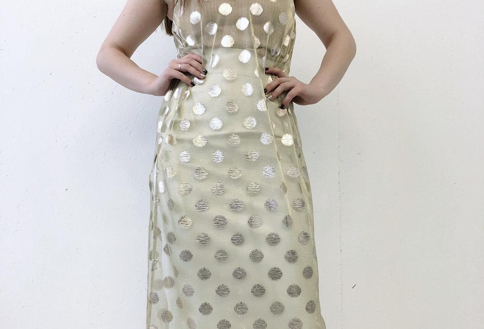 Платье комбинация из сетки
