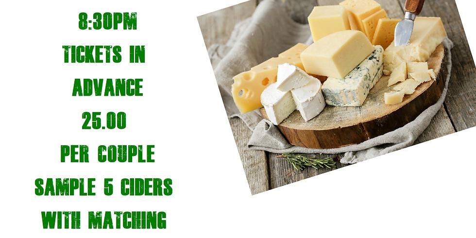 Cider & Cheese Night
