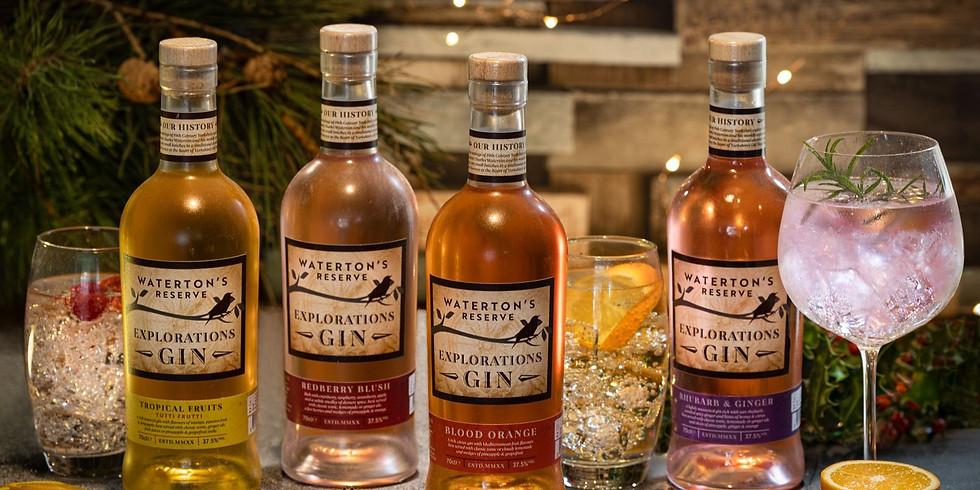 Waterton's  Explorations Range Gin Tasting