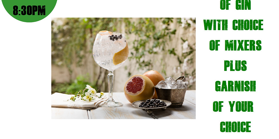 Gin Tasting - Cancelled