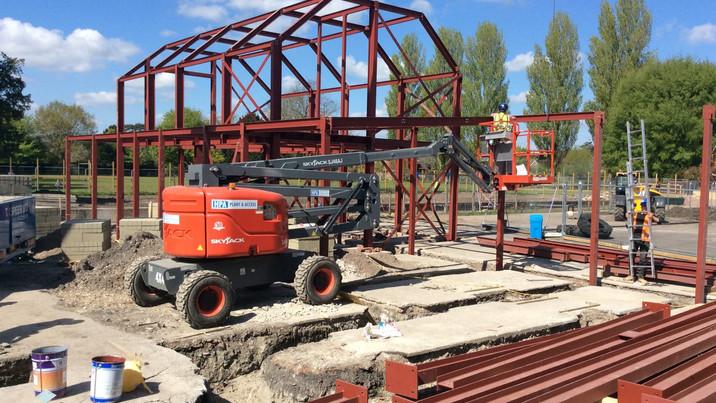 Downton frame construction