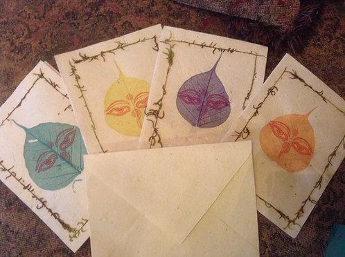 Budda Eye Stationary Set 8cardEnvelopes