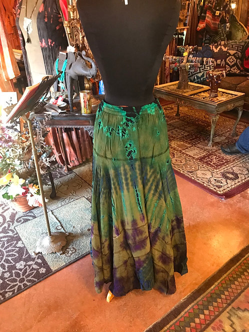 Tie Dye Gypsy skirt