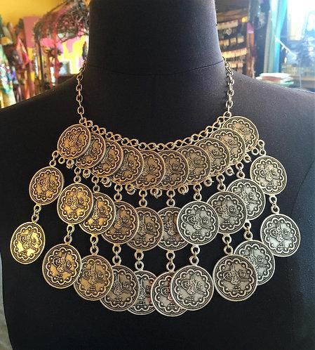 Large Coin Bib