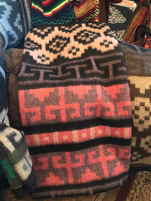 Indian print blanket