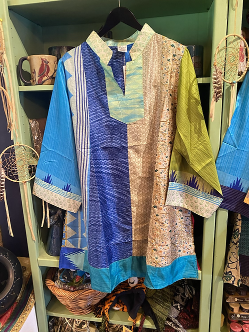 Sari Silk Tunic