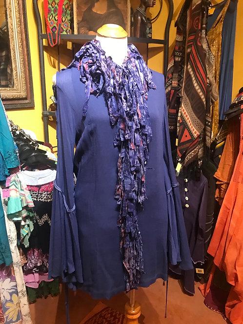 Bell sleeve mini dress M