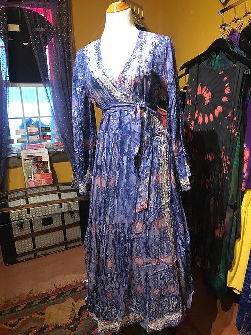 FHCB Signature Dress Kole Blue/salmon