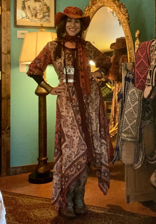 Hankie hem Indian Dress