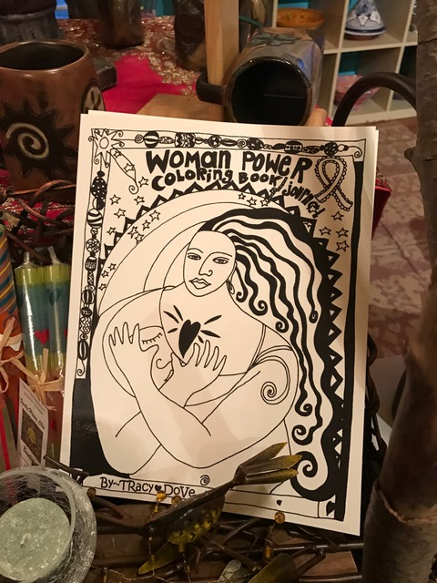 Women Power Coloring Book
