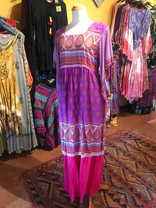 Dashiki style tunic dress