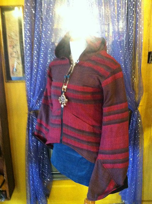 Nepal Bell Sleeve Fleece jacket