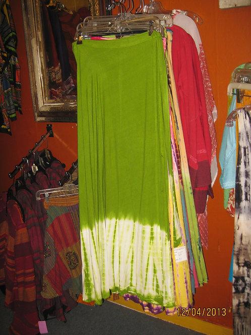 Wrap Skirt Lime