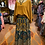 Thumbnail: Teal and gold Indian Skirt