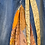 Thumbnail: Sari silk patch jean skirt