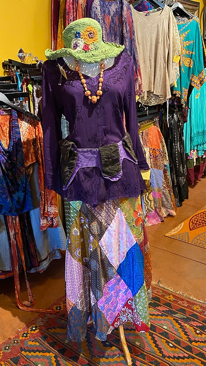 Purple Indian Tunic