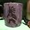 Thumbnail: 16 oz Plum Kokopeli/hand and spiral mug