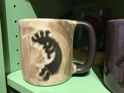 16oz Natural Kokopeli Mug