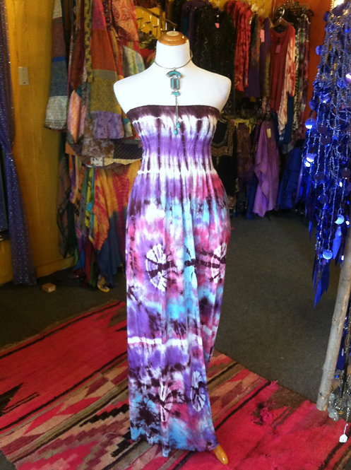 XL Tye Dye Maxi Dress
