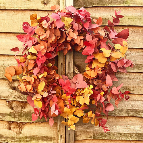 Autumnal Eucalyptus Wreath