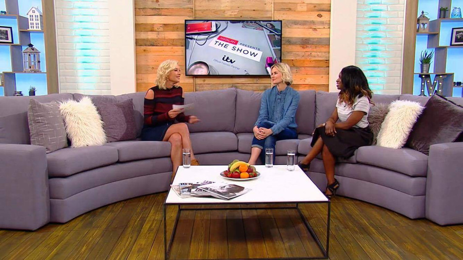 3 Section Sofa made for Matalan Show featuring Denise Van Outen