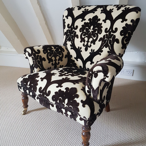 Traditional Fireside Chair