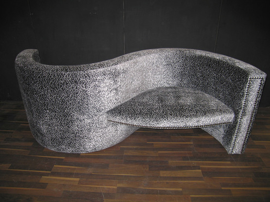 S Shaped Love Seat
