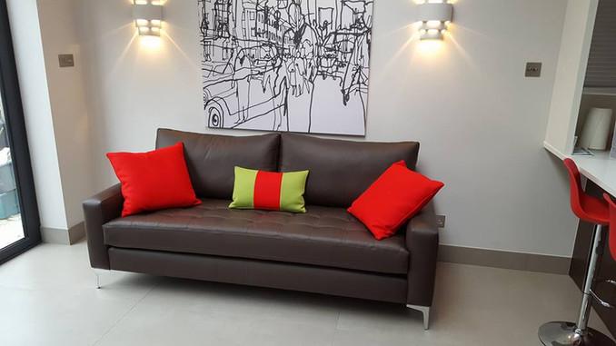 Bespoke Leather Sofa