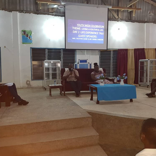 The Church of Christ at Village of Hope Celebrates Youth Week