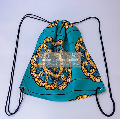 Convenient Drawstring Backpack - Wheel of Fortune I