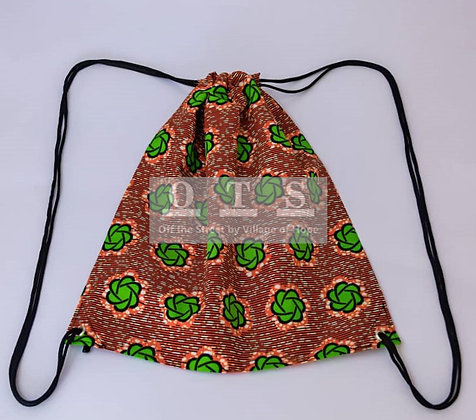 Convenient Drawstring Backpack - Obaapa I
