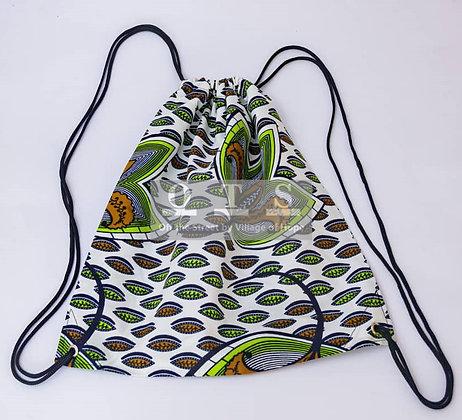 Convenient Drawstring Backpack - Lotus I