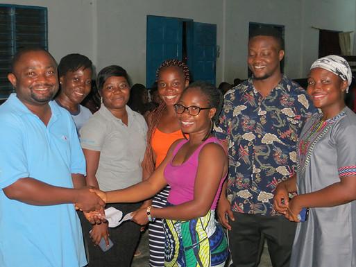 Independent Children of Village of Hope Give Back