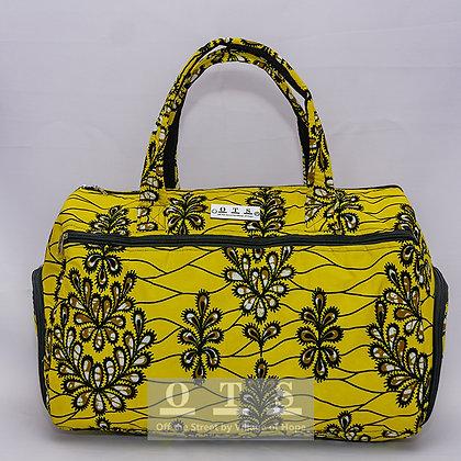 Gbefaa Duffel Bag - Yellow Sisi I