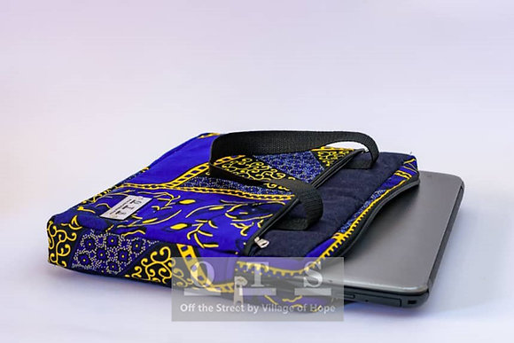 Aiki 14-inch Laptop Sleeve - Adukuro Mu Nsuo I v1