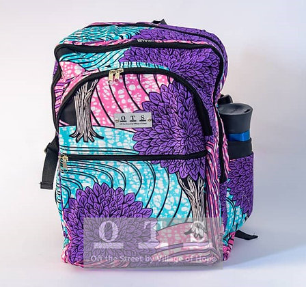 Jumbo Laptop Backpack - Topiary I