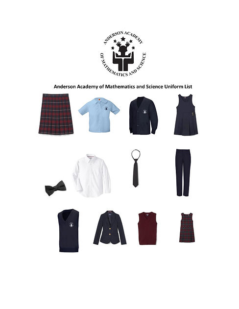 Anderson Academy of Mathematics and Science Uniform List.updated8152021.jpg