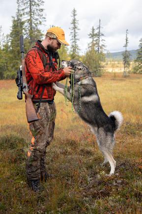 Hundförare med jämthund