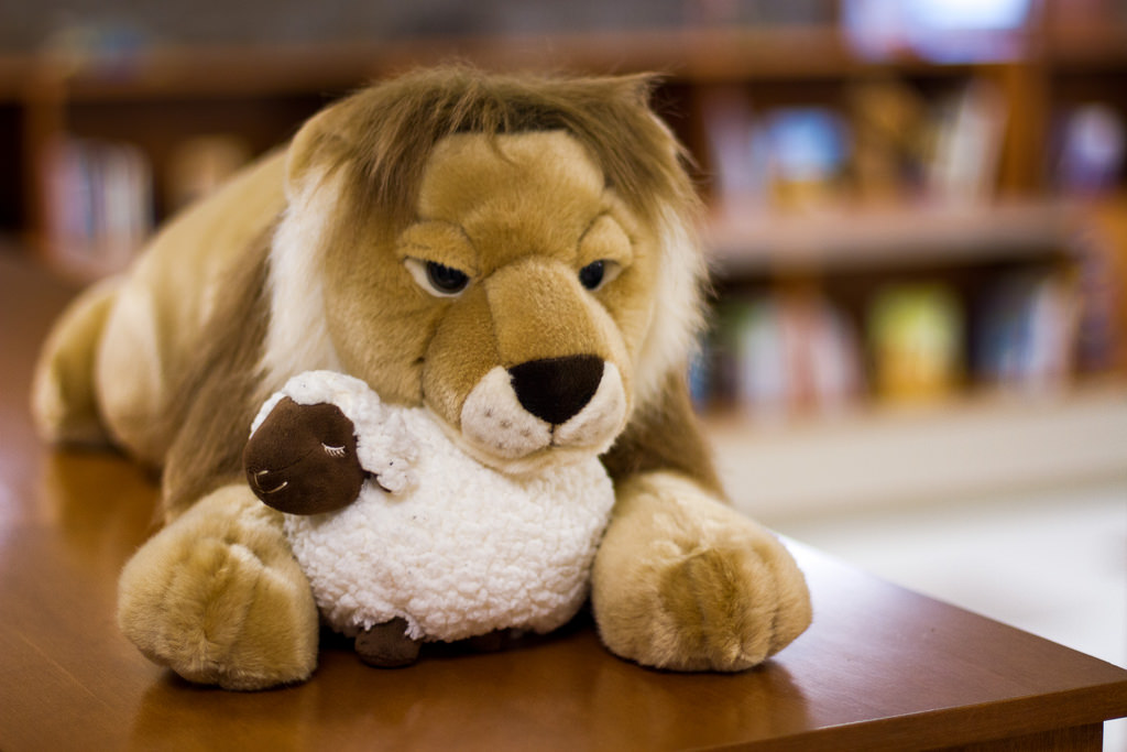 Building Peaceable Kingdom Lion Lamb.jpg