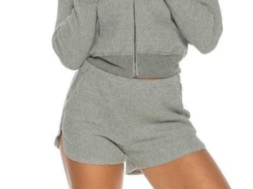 Waffle Shorts - Grey