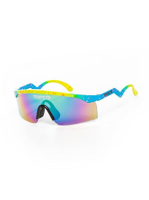 Thrasher Sunglasses - Yellow/Blue