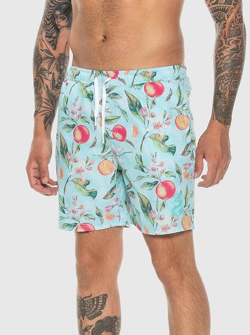 Blue Vitamin C Swim Shorts