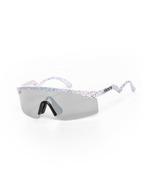 Thrasher Sunglasses- White