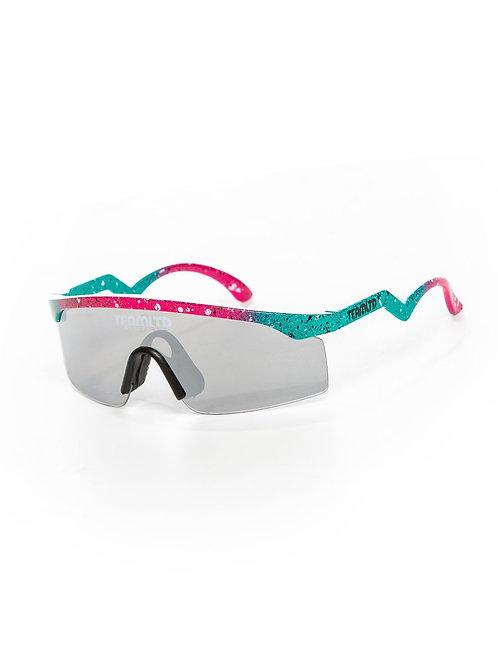 Thrasher Sunglasses - Teal/Pink