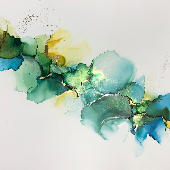 Let's Ink Alcohol Ink Painting Class