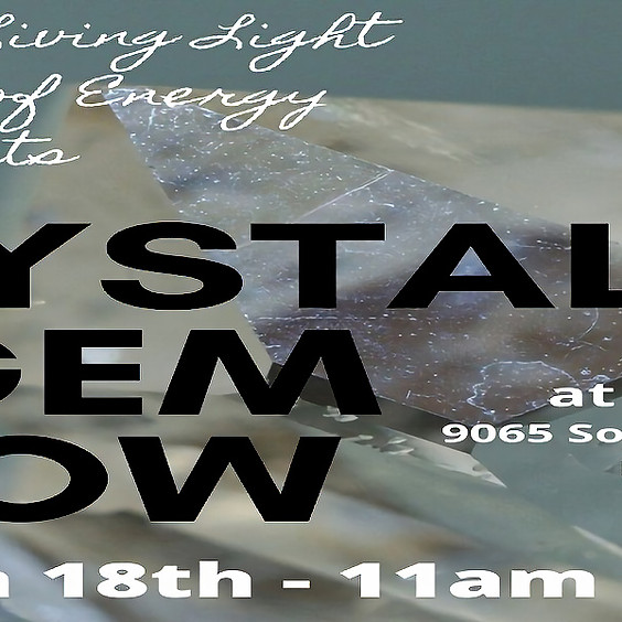 Crystal Gem Show